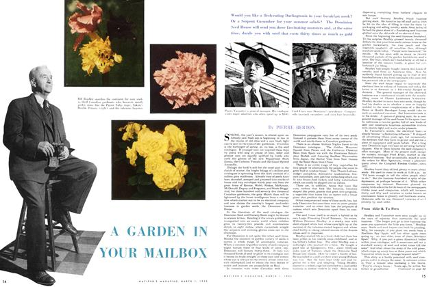 Article Preview: A GARDEN IN YOUR MAILBOX, March 1952 | Maclean's