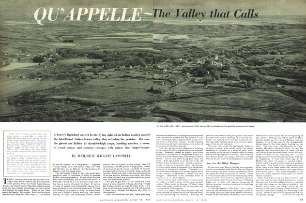 Article Preview: QU' APPELLE-The Valley that Calls, March 1952 | Maclean's