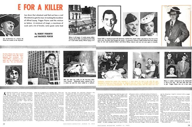 Article Preview: E FOR A KILLER, March 1952 | Maclean's