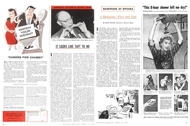 Article Preview: A Dominion, First and Last, March 1952 | Maclean's