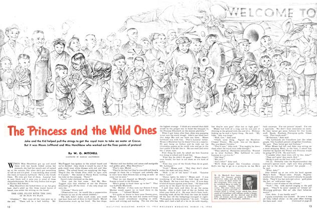 Article Preview: The Princess and the Wild Ones, March 1952 | Maclean's