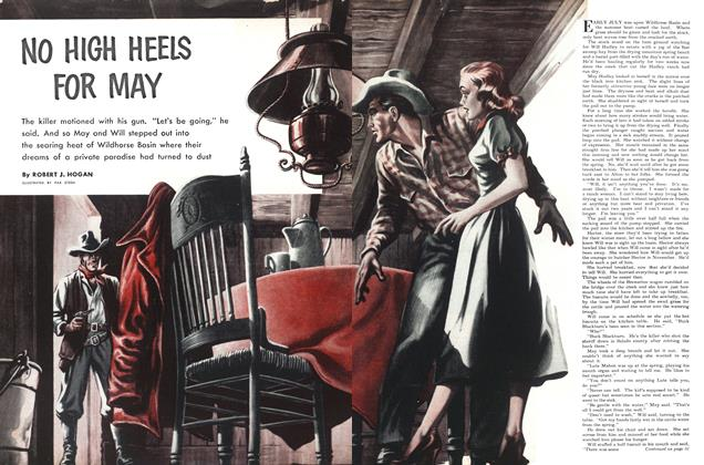 Article Preview: NO HIGH HEELS FOR MAY, April 1952 | Maclean's