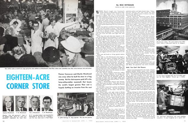 Article Preview: EIGHTEEN-ACRE CORNER STORE, April 1952 | Maclean's