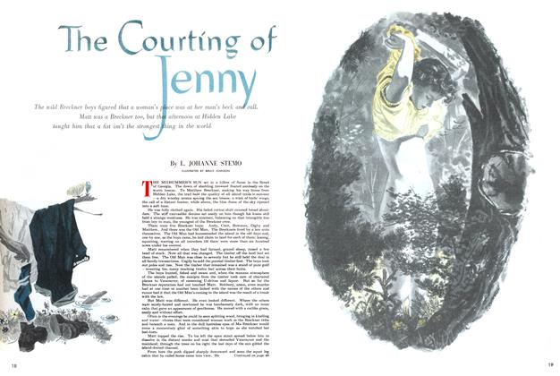 Article Preview: The Courting of Jenny, April 1952 | Maclean's