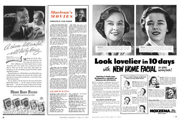 Article Preview: Maclean's MOVIES, April 1952 | Maclean's
