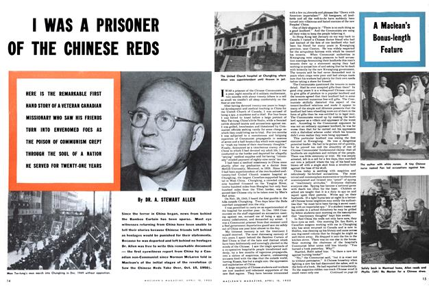 Article Preview: I WAS A PRISONER OF THE CHINESE REDS, April 1952 | Maclean's