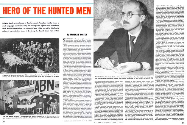 Article Preview: HERO OF THE HUNTED MEN, May 1952 | Maclean's