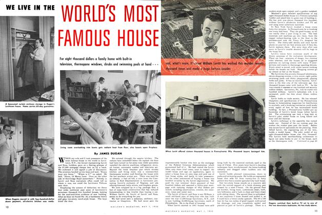 Article Preview: WE LIVE IN THE WORLD'S MOST FAMOUS HOUSE, May 1952 | Maclean's