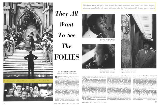 Article Preview: They All Want To See The FOLIES, May 1952 | Maclean's