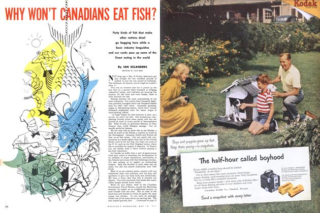Article Preview: WHY WON'T CANADIANS EAT FISH?, May 1952 | Maclean's