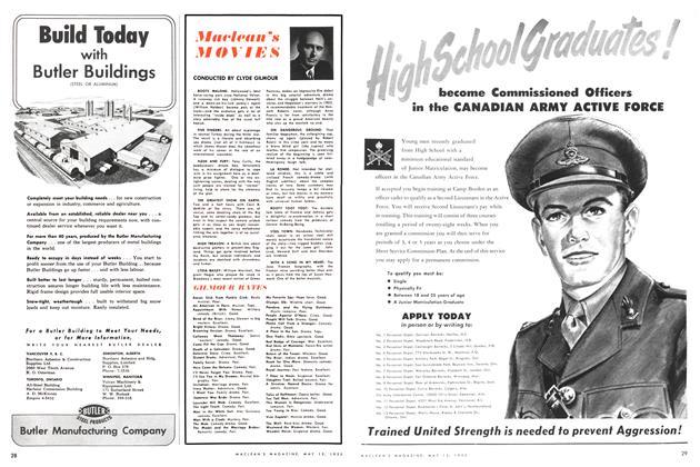 Article Preview: Maclean's MOVIES, May 1952 | Maclean's