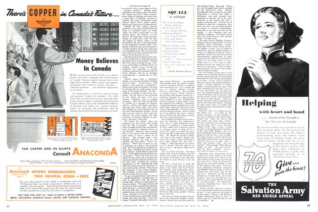 Article Preview: SQUALL at midnight, May 1952 | Maclean's