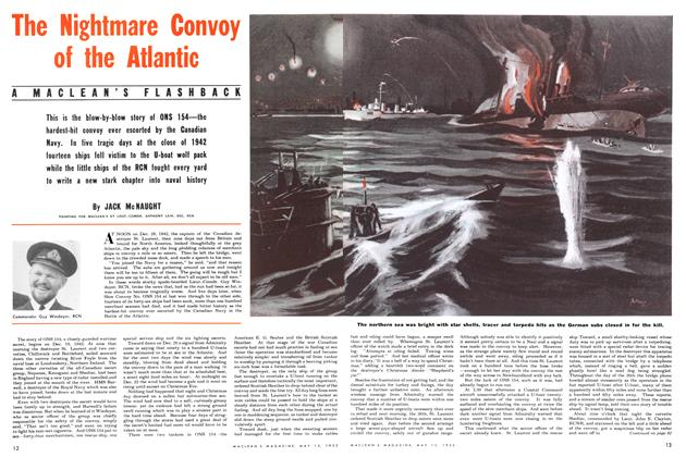 Article Preview: The Nightmare Convoy of the Atlantic, May 1952 | Maclean's