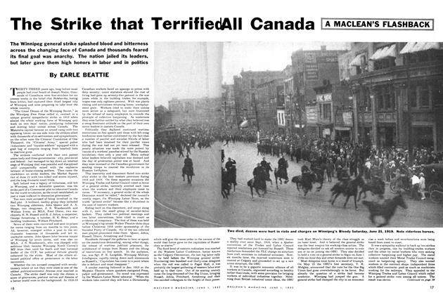 Article Preview: The Strike that Terrified All Canada, June 1952 | Maclean's