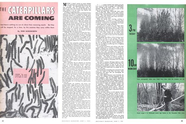 Article Preview: THE CATERPILLARS ARE COMING, June 1952 | Maclean's
