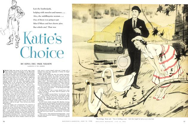 Article Preview: Katie's Choice, June 1952 | Maclean's