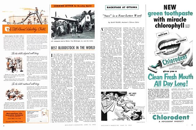 Article Preview: BEST BLOODSTOCK IN THE WORLD, June 1952 | Maclean's
