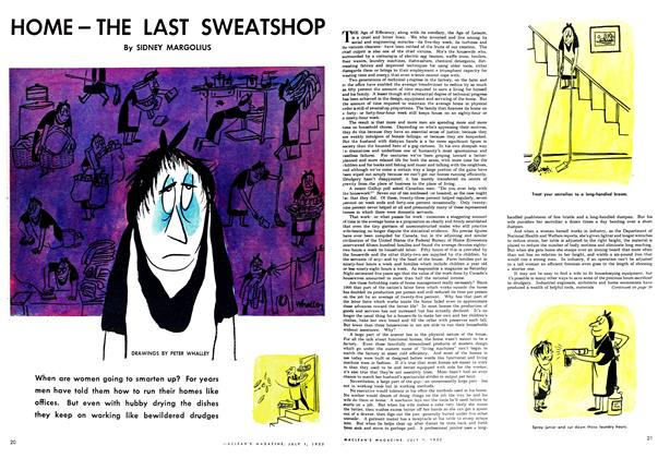 Article Preview: HOME-THE LAST SWEATSHOP, July 1952 | Maclean's