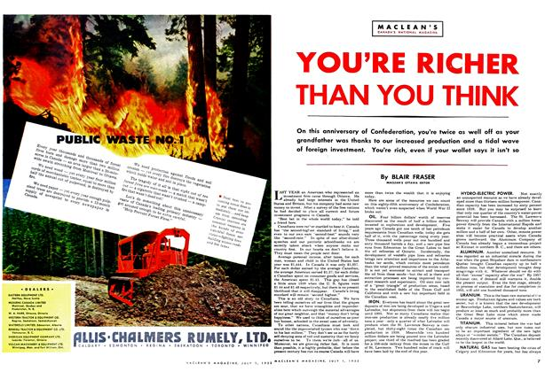Article Preview: YOU'RE RICHER THAN YOU THINK, July 1952 | Maclean's