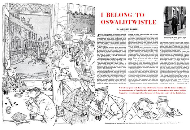 Article Preview: I BELONG TO OSWALDTWISTLE, July 1952 | Maclean's