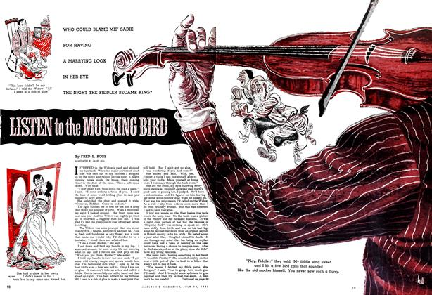 Article Preview: LISTEN to the MOCKING BIRD, July 1952 | Maclean's