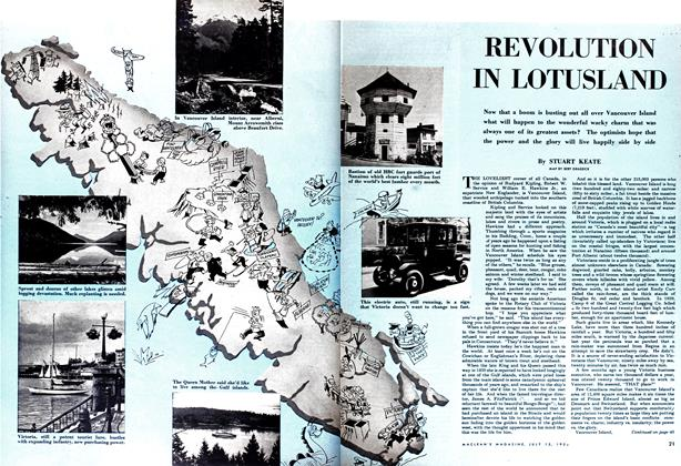 Article Preview: REVOLUTION IN LOTUSLAND, July 1952 | Maclean's