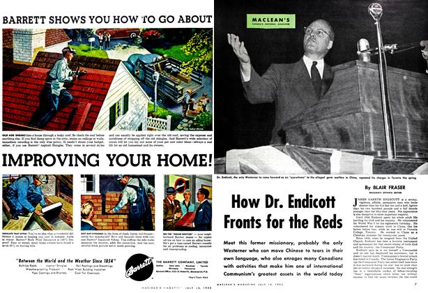 Article Preview: How Dr. Endicott Fronts for the Reds, July 1952 | Maclean's