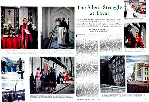Article Preview: The Silent Struggle at Laval, August 1952 | Maclean's