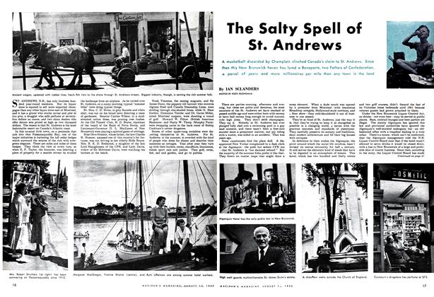 Article Preview: The Salty Spell of St. Andrews, August 1952 | Maclean's