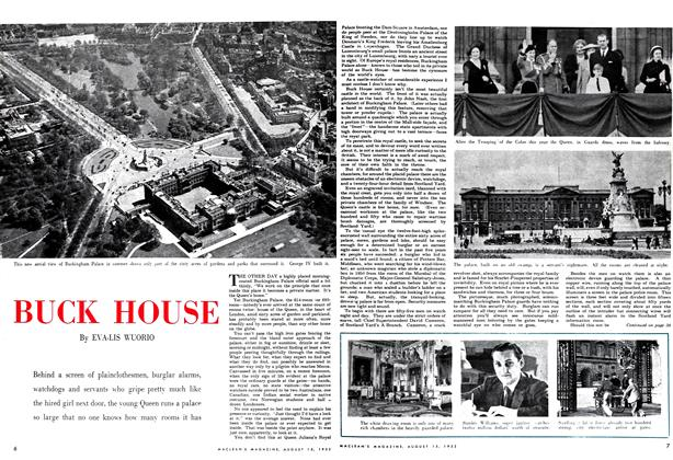 Article Preview: BUCK HOUSE, August 1952 | Maclean's