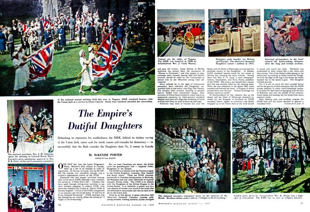 Article Preview: The Empire's Dutiful Daughters, August 1952 | Maclean's