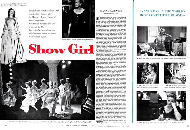 Article Preview: Show Girl, August 1952 | Maclean's
