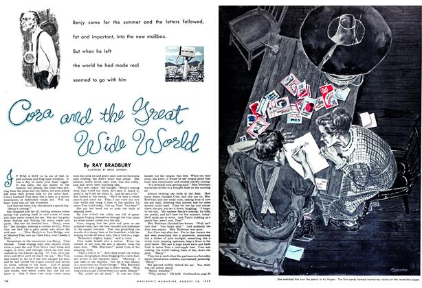 Article Preview: Cora and the great wide world, August 1952 | Maclean's