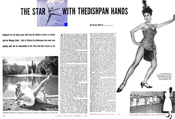 Article Preview: THE STAR WITH THE DISHPAN HANDS, September 1952 | Maclean's