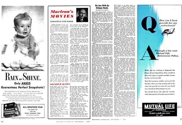 Article Preview: Maclean's MOVIES, September 1952 | Maclean's
