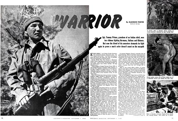 Article Preview: WARRIOR, September 1952 | Maclean's