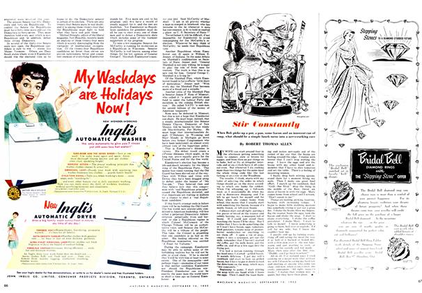 Article Preview: Stir Constantly, September 1952 | Maclean's