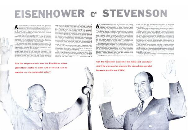 Article Preview: EISENHOWER, September 1952 | Maclean's