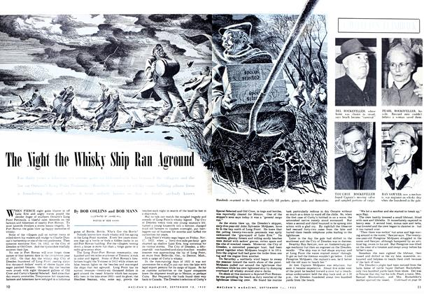 Article Preview: The Night the Whisky Ship Ran Aground, September 1952 | Maclean's