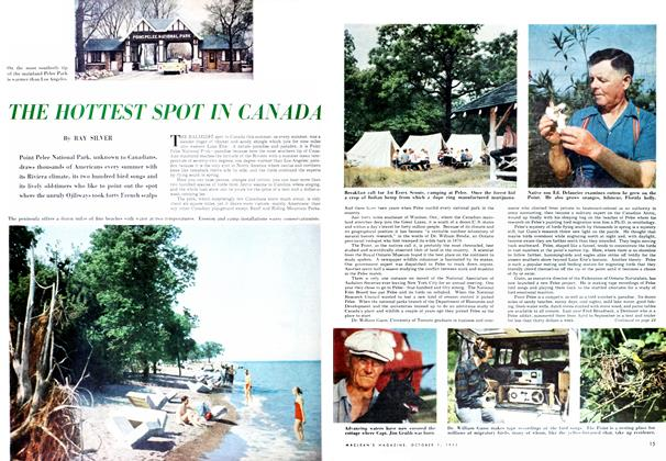 Article Preview: THE HOTTEST SPOT IN CANADA, October 1952 | Maclean's