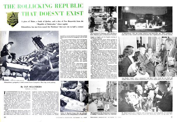Article Preview: THE ROLLICKING REPUBLIC THAT DOESN'T EXIST, October 1952 | Maclean's