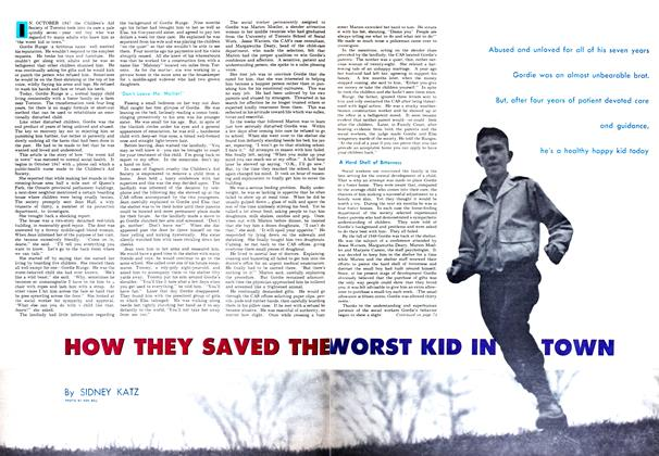 Article Preview: HOW THEY SAVED THE WORST KID IN TOWN, October 1952 | Maclean's