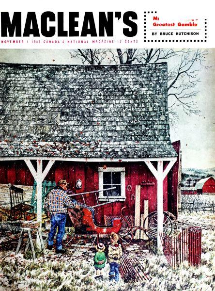 Issue: - November 1952 | Maclean's