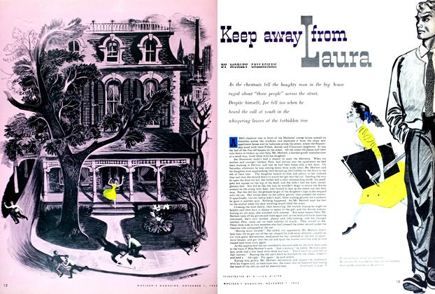Article Preview: Keep away from Laura, November 1952 | Maclean's
