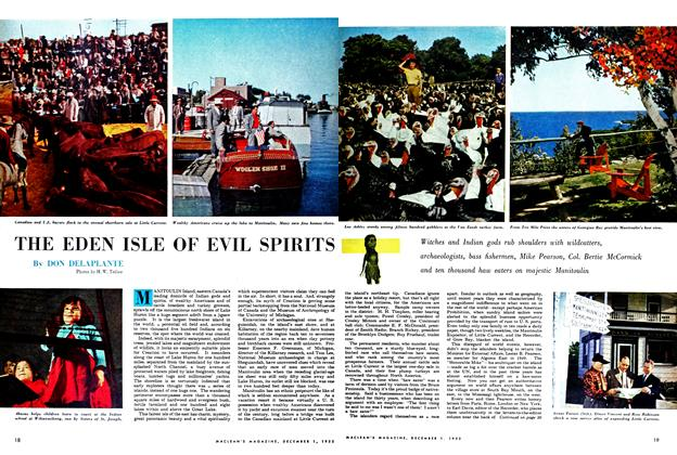 Article Preview: THE EDEN ISLE OF EVIL SPIRITS, December 1952 | Maclean's