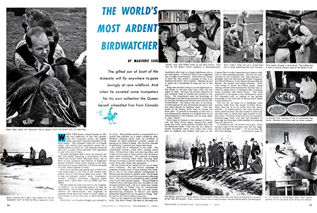 Article Preview: THE WORLD'S MOST ARDENT BIRDWATCHER, December 1952 | Maclean's