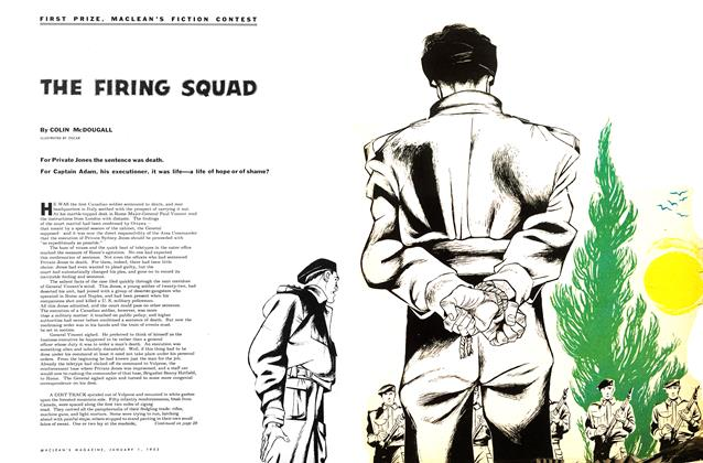 Article Preview: THE FIRING SQUAD, January 1953 | Maclean's