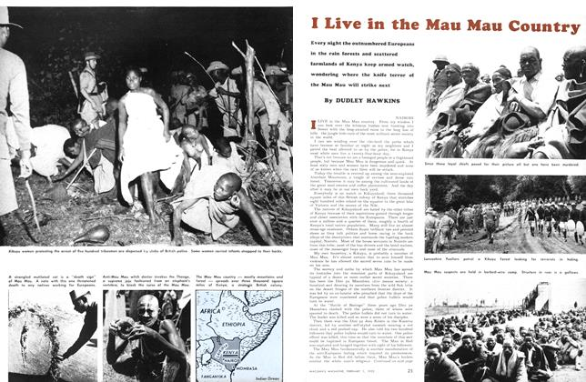 Article Preview: I Live in the Mau Mau Country, February 1953 | Maclean's