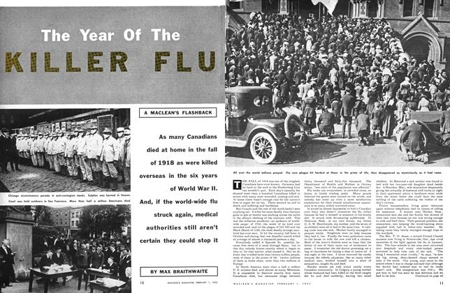 Article Preview: The Year Of The KILLER FLU, February 1953 | Maclean's