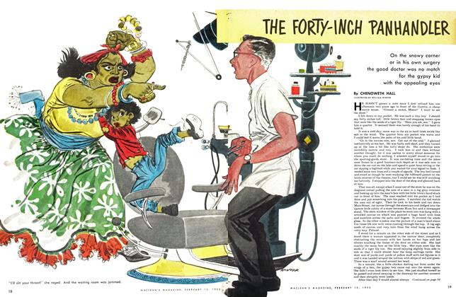 Article Preview: THE FORTY-INCH PANHANDLER, February 1953 | Maclean's
